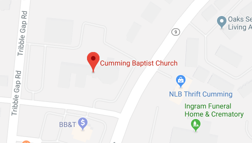 Cumming Baptist Church | Knowing Christ and Living to make